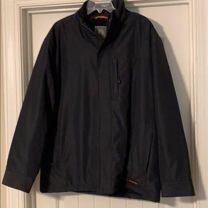 Men's Weatherproof lined full zip wind breaker